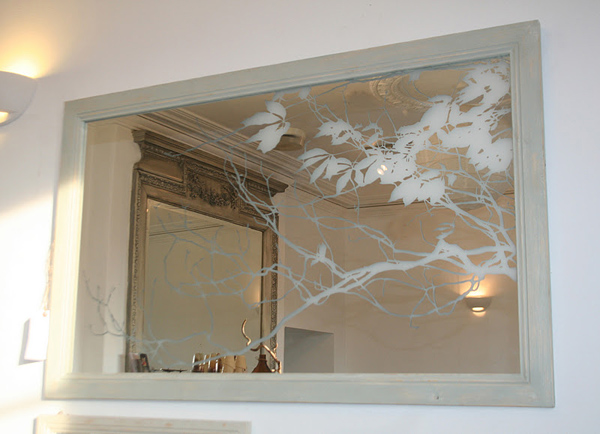 Art N Glass Etched Mirror