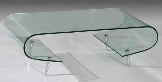 Center Table With Glass : Center Table