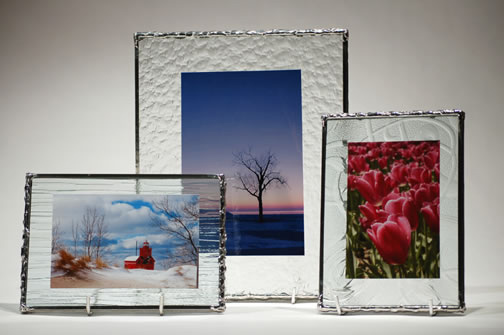 Glass Poster Frame With Clips Cafenewsfo