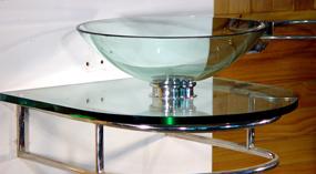 Art-n-Glass Glass Washbasin & Bowls